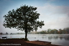 Bury Lake (Chris Kench Photography) Tags: morning mist fog early nikon nikkor hertfordshire herts rickmansworth d700 kenchie
