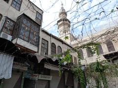 P1010184 -  DAMAS - DAMASCUS (peguiparis) Tags: street mosque syria friday rue damascus damas vendredi mosque syrie
