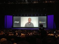 Microsoft and Citrix are still #in love (-: #CitrixSummit