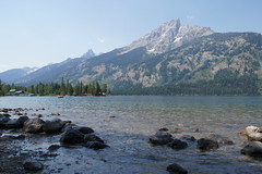 Western U.S. Vacation 2012 (MacabreX) Tags: mountain lake water rock rockymountains wyoming 2012 grandtetonnationalpark jennylake