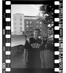 Chris - Dirtbag - Negative Scan (old_skool_paul) Tags: life street camera new blue autumn winter party summer england colour london sports beer fashion portraits lens cool lomo lomography october fuji photographer action weekend extreme feel grain hipster smiles lifestyle style guys fresh sneakers diamond iso plastic sidewalk negative crew converse 200 only skateboard blogspot late vans skater uni washed hip huf dye adidas expired 2008 bucks filming tone liability skateboarder supreme disposable thrasher dialy insta snapback hufdirtbag