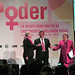 US Secretary of State Hillary Rodham Clinton, Peruvian President Ollanta Humala Tasso and UN Women Executive Director Michelle Bachelet emphasized gender equality at the event \