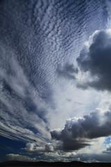 Herringbone sky