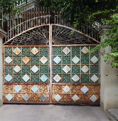 metal gate near S21 school