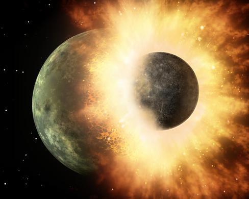 Nuevos estudios apoyan la teoría de que la Luna es 'hija' de la Tierra