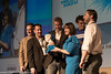 Congratulations: A US-based startup, SmartThings, won the Electric Ireland Spark of Genius Award