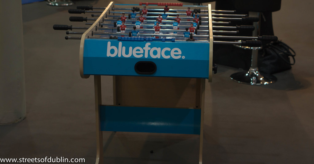 Blueface: Second Day Of The2012  Web Summit In Dublin