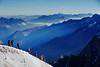Arete walk (Siejones) Tags: snow mountains alps mont blanc
