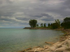 Bluffers Park, Scarborough2 (Orangevillain) Tags: sky lake ontario water stormy