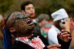 Zombie Walk (MatthewDaelman - www.bijzonder.be) Tags: toronto canada halloween canon dead 50mm prime scary zombie parade horror 18 portret 550d