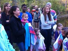 Fall celebration baptism
