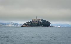 Weather over Alcatraz (shoeymcmooey) Tags: sanfrancisco california sea usa fog america island boat nationalpark sony prison northamerica alcatraz nex 5n sel1855 nex5n sonynex5n