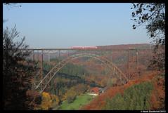 DB Regio 628, Solingen-Schaberg 23-10-2012 (Henk Zwoferink) Tags: br 628 db brücke wuppertal der rb 47 henk duitsland solingen regio müngstener zwoferink