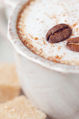 My morning cappuccino (Lena Khachina) Tags: morning decorations food brown white macro cup coffee up closeup breakfast canon table java cafe italian pattern close sweet cinnamon text beverage fresh sugar health slice sample brownie sliced cappuccino simple decorate luxury unhealthy stylish brewed canon5dmark2 canon5dmarkii lenakhachina