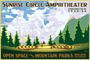 Photo - Sunrise Circle Amphitheater poster