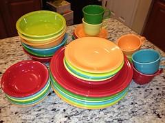 Pretty new Fiesta ware (hedgiehog) Tags: china retro fiestaware crockery homerlaughlin