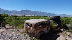 Chapa y pintura (Miradortigre) Tags: auto argentina oxido montaa viejo cordillera catamarca abandonado