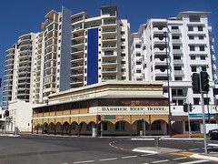 Barrier Reef Hotel, Cairns (Oriolus84) Tags: building heritage architecture pub apartments highrise cairns piermonde barrierreefhotel jacknewell madisononabbott