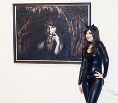 . (Stl Hakusho) Tags: art halloween true painting costume blood factory catwoman koken