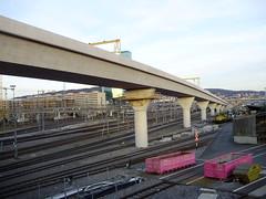 Zurich SBB New Line (mostlybytrain) Tags: zurich weinberg zurichhauptbahnhof loewenstrasse
