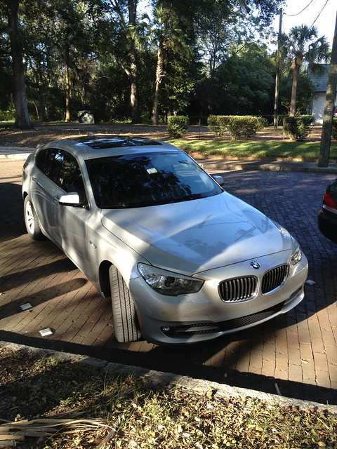 halloween car silver wagon harbor automobile florida safety german bmw gran gt turismo hatchback 535