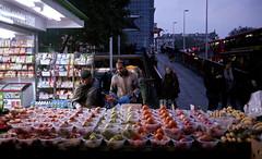 Fruit Stall - London (dazftw | www.darrencarlinphoto.com) Tags: leica elephant london castle film fruit self kodak scanner stall 400 epson portra developed m6 v700