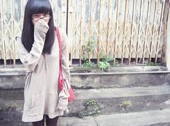 =_____= Good morning.. (Pinku ) Tags: street morning autumn girl weather vietnam sleepy lovely hanoi krazy