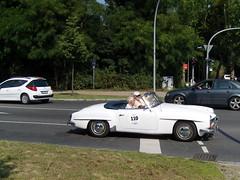 2. ADAC RALLYE AVUS CLASSIC 2012 ... (bayernernst) Tags: auto berlin deutschland convertible mercedesbenz oldtimer juli brandenburg rallye 2012 adac cabriolet pkw kleinmachnow kfz mercedesbenz190sl kraftfahrzeug oldtimerralley kraftfahrzeuge mercedesbenzw121 stahnsdorferdamm 27072012 2adacrallyeavusclassic sn202361