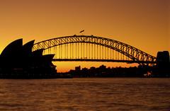 Silhouette Sydney (William J H Leonard) Tags: bridge winter sunset silhouette twilight sydney australia circularquay newsouthwales therocks sydneyharbour royalbotanicgardens sydneyoperahouse sydneyharbourbridge centralbusinessdistrict australasia oceania southernhemisphere centralsydney
