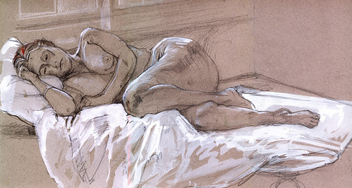 Fig 30. Life drawing Appledore