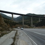 """Down below, looking up at the toll road now <a style=""""margin-left:10px; font-size:0.8em;"""" href=""""http://www.flickr.com/photos/59134591@N00/8369715239/"""" target=""""_blank"""">@flickr</a>"""