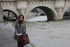 Ellie at the Pont Neuf (iansand) Tags: paris france ellie pont neuf