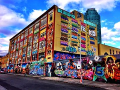 5 pointz - Long Island City, Queens NY (JayCass84) Tags: new city streetart art apple graffiti paint artist streetphotography wallart spraypaint dope burner streetview graffitiart yorknycnybig