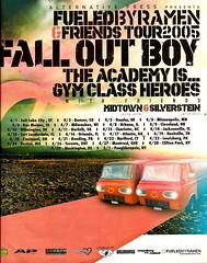Fall Out Boy. (HollyannH) Tags: tour midtown falloutboy silverstein punchline gymclassheroes theacademyis alternativepress fueledbyramen