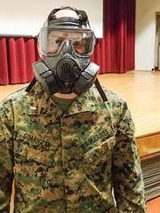 TBS Gas Masks (3 of 5) (Quentin Biles) Tags: usmc virginia olympus va gasmask tbs tough fifth quantico aco unitedstatesmarinecorps tg1 5thplatoon thebasicschool alphacompany cbrn