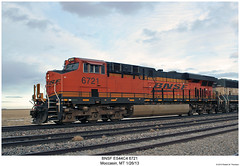 BNSF ES44C4 6721 (Robert W. Thomson) Tags: railroad train montana diesel railway trains locomotive trainengine ge bnsf moccasin burlingtonnorthernsantafe gevo es44 evolutionseries sixaxle es44c4