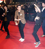 2013 NRJ Music Awards, held at the Palais des Festivals - Arrivals Featuring: Niall Horan (R) of One Direction dancing Gangnam Style