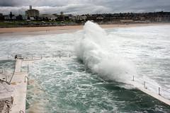 Icebergs Pool, Bondi Beach, stormy (kiwi vic) Tags: storm beach bondi oceanpool