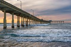 OB Pier 1 (mojo2u) Tags: ocean california sunset beach pier sandiego oceanbeach nikon2470mm nikond800