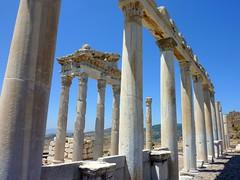 Ancient Pergamon ( Bergama, Turkey) (Frans.Sellies) Tags: turkey day clear türkei pergamon bergama abigfave p1370371