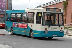 Arriva Dennis Dart 1252.N252CKA - Warrington (dwb transport photos) Tags: bus warrington dennis dart arriva eastlancs 1252 n252cka