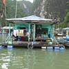 Floating house, Ha Long Bay, Vietnam