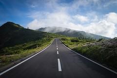 Eternal road (ILCE-7M2 + SEL1635Z) (tadanori.inoue) Tags: sky cloud mountain color japan zeiss photography sony  gunma carlzeiss    sel1635z ilce7m2
