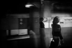 Dream (Solylock) Tags: 2016 paris streetphotography photoderue noiretblanc blackandwhite nb bw monochrome monochrom metropolitan metro affiche aeroport airport cdg roissy bus voitures cars escaliers stairs rflexion reflection ombre chinoise banc public fatigue marinire patissier sortie froissart propret bep