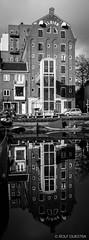 Groningen Verticaal 16 (redijkstra) Tags: groningen groningenverticaal indevoetsporenvan noorderhaven water pakhuis verticaalpanorama weerspiegeling zwartwit