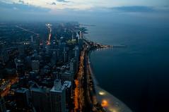 Lake Michigan and L.S.D. (rtowsky) Tags: chicago lakemichigan lakeshoredrive