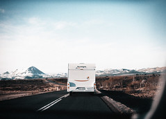 To the mountains we shall go (Bazzerio) Tags: film travel vintage bazzerio 35mm camping camper caravan iceland hike wild camp photographer photographersontumblr road mountain lake trees trek travels