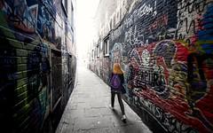 2016-08-11_11-02-49 (halland71) Tags: streetart urban graphitti belgium gent gentfest fest7val summer girl redhead walk color colorful alone free city lights sony a7r2 zeiss behind alley flandern flemish colorsinourworld bruges roadtrip walkalone
