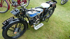 1926 Douglas 348cc Reg: SV 9560 (bertie's world) Tags: lincolnshire steam rally 2016 lincoln showground 1926 douglas 348cc reg sv 9560