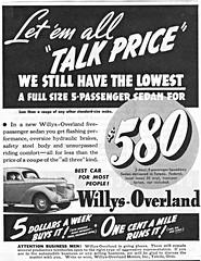 1939 Willys-Overland Sedan (aldenjewell) Tags: 1939 willys overland sedan ad